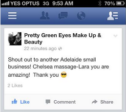 Lara testimonial WELCOME TO CHELSEA MASSAGE