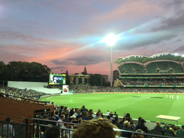 Australia and New Zealand Cricket in Adelaide